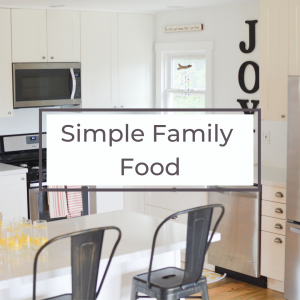 simple family food