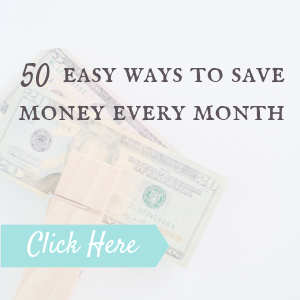 easy ways to save every month