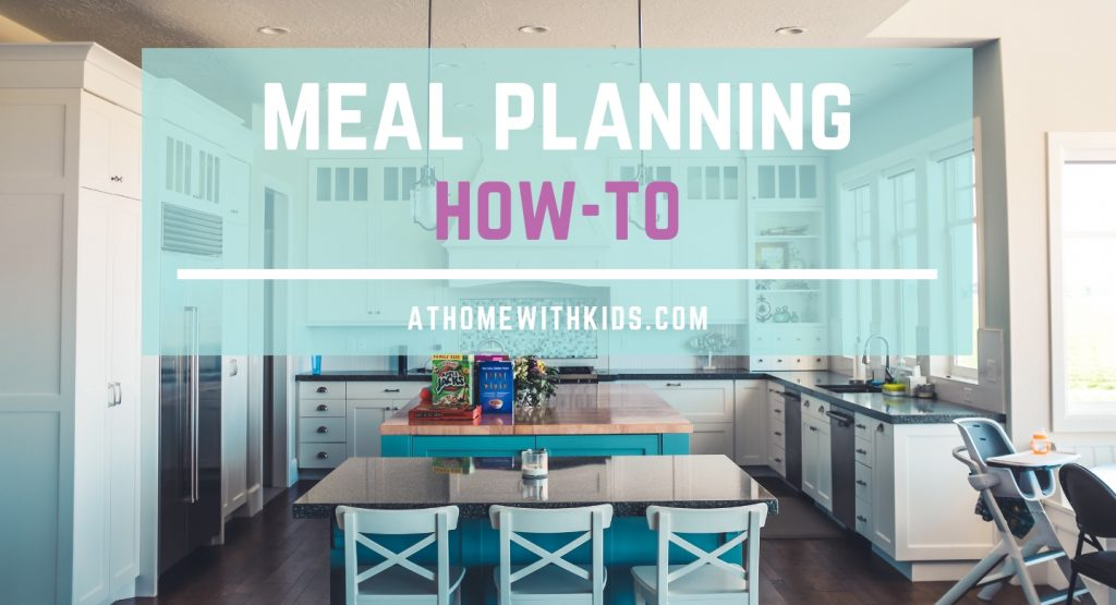 meal planning how to
