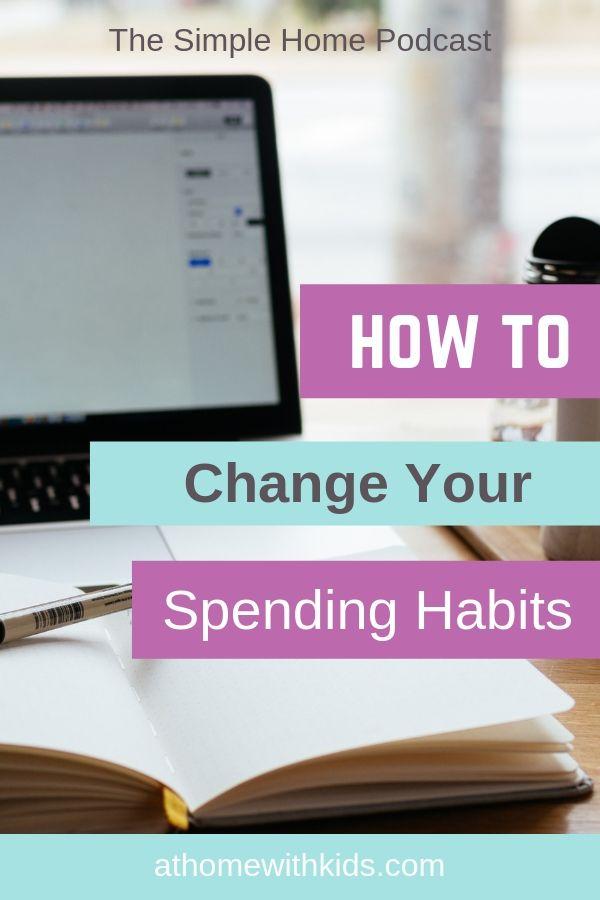 change your spending habits