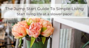 jump start guide to simple living