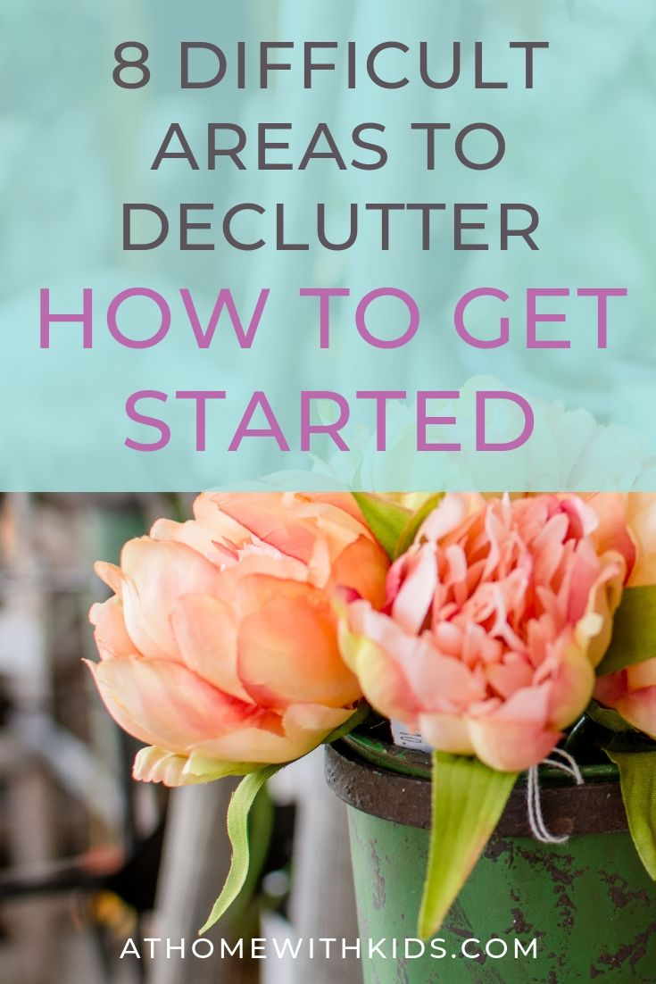 difficult areas to declutter