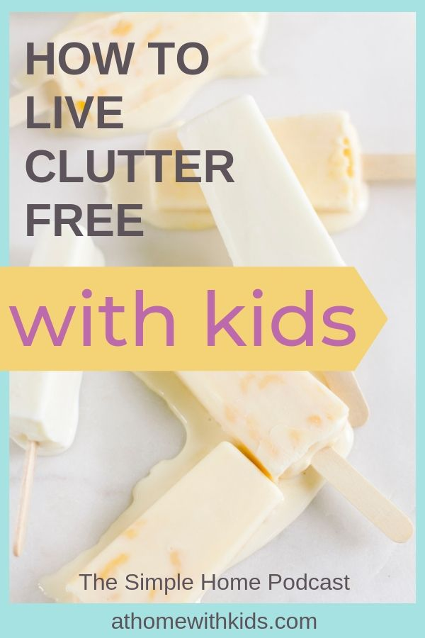 clutter free with kids