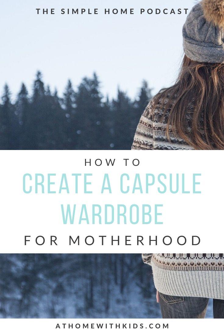 capsule wardrobe for moms